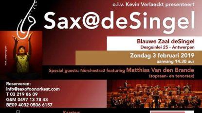 Het Saxofoonorkest pakt uit met… de Sax