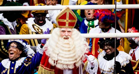 Sinterklaas in Dokkum.
