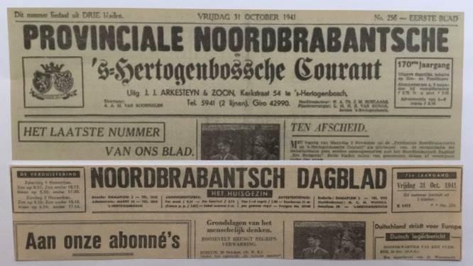 De krant in oorlogstijd: 'fuseren als men wilde blijven verschijnen'