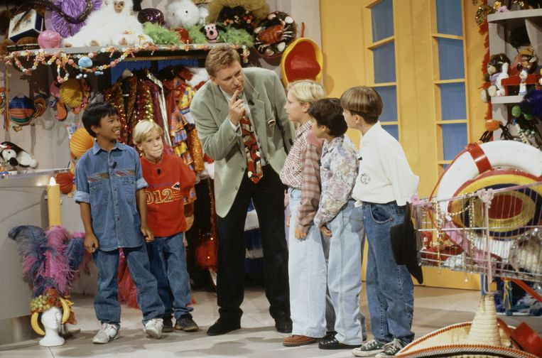 De Mini Playback Show (1985-1998) met Hennie Huisman. Beeld ANP Kippa