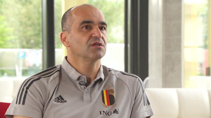 Roberto Martínez bij VTM Nieuws, enkele dagen voor bekendmaking EK-selectie