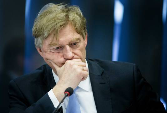 Staatssecretaris Martin van Rijn (Volksgezondheid) tijdens een debat over de betalingsproblemen rond het persoonsgebonden budget (pgb) in de tweede Kamer in maart van dit jaar.