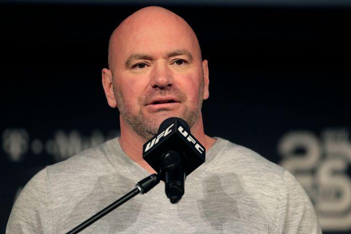 UFC-baas Dana White