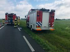 Brandweer rukt uit naar Dalmsholte voor een brandje... in een brandweerwagen