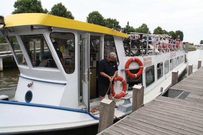 Een vaart met de Yzerstar, van Nieuwpoort naar Diksmuide, kan van maandag tot en met zaterdag.
