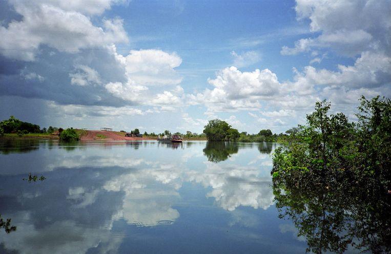 De Orinoco, rivier in Venezuela, tropisch leefgebied voor vis. Beeld Raymond Sluiter