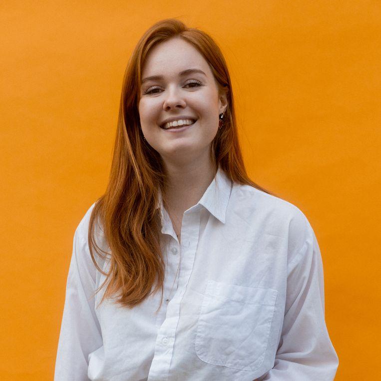 Sarah Vlootman: 'Jongeren moeten onderdeel zijn van het vormgeven van hun eigen toekomst.' Beeld Ines Vansteenkiste-Muylle