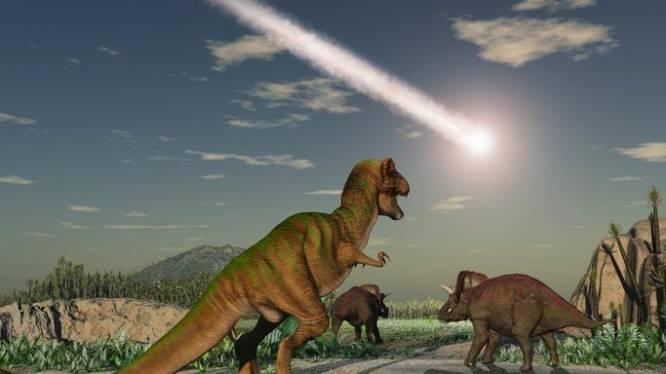Krater van meteoriet die dinosaurussen uitroeide herbergt binnengebergte