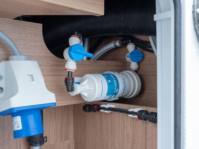 Waterfilter: voortaan standaard in elke Knaus