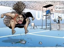 Une caricature de Serena Williams sous le feu des critiques
