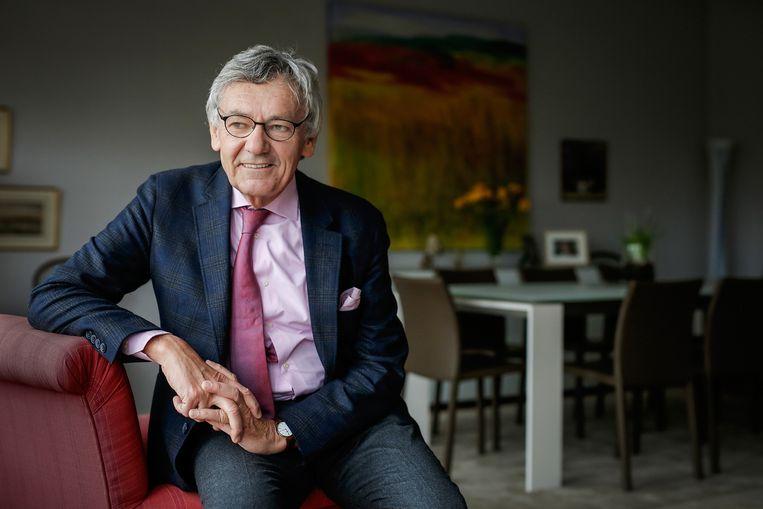 Oud-ambassadeur Johan Swinnen: 'België moeit zich te weinig met de mensenrechten in Congo. Ik vraag me af of we voldoende assertief zijn.' Beeld KU Leuven - Rob Stevens