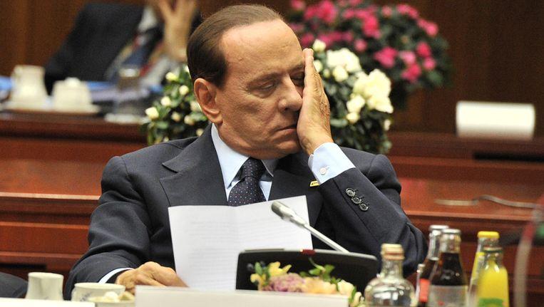 Silvio Berlusconi Beeld afp