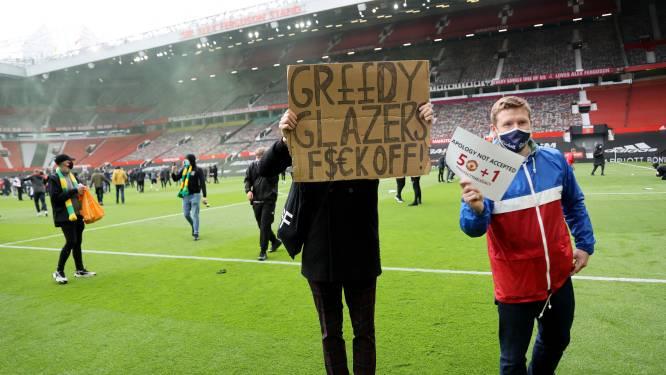 Ongekende taferelen: Man United-fans dringen Old Trafford binnen en eisen vertrek eigenaren, duel tegen Liverpool uitgesteld