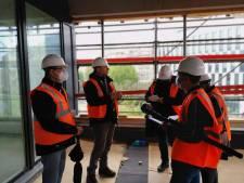 Le premier bâtiment du nouveau quartier carolo Left Side Business Park sort de terre