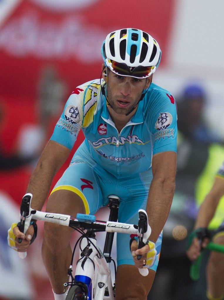 Nibali reed zich de ziel uit het lijf, tevergeefs Beeld AFP