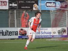 Flevo Boys-aanvaller Tiems staat na basisplaats, goal en assist wel op scherp voor polderderby