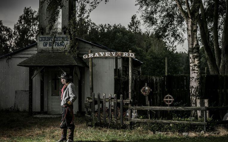 Het cowboydorp El Paso in Wuustwezel: clichés en kinderlijke nostalgie.  Beeld rv Diego Franssens