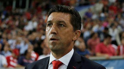 Besnik Hasi niet langer coach van Olympiakos