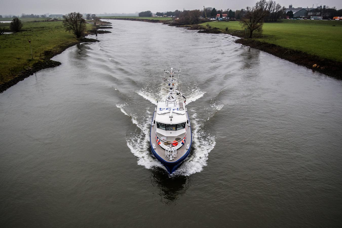 Zoekactie op de IJssel.