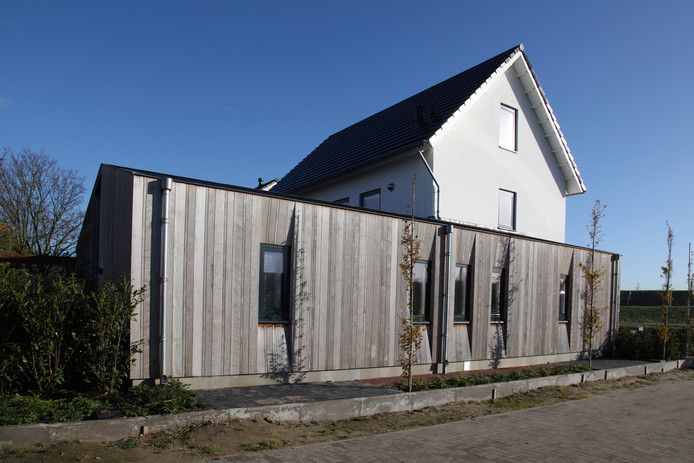 9. Woonhuis Bhattachan aan de Jan van Moockstraat in Lent Architectenbureau: Van Hontem Architecten.  Opdrachtgevers: A. Bhattachan en C. Demmers.
