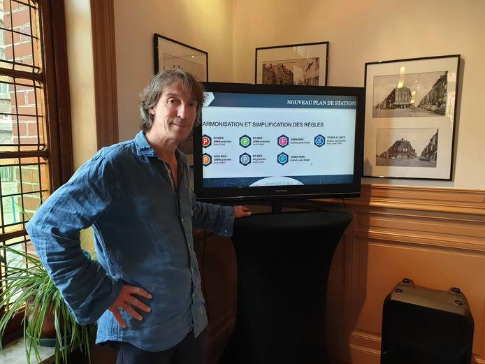 Xavier Desgain (Ecolo) et son nouveau plan de stationnement à Charleroi