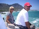 Yvonne en Hennie Spijkerman genoten elke seconde van hun tijd in Zuid-Afrika.