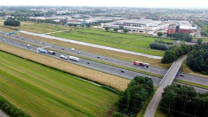 De A12 bij Woerden