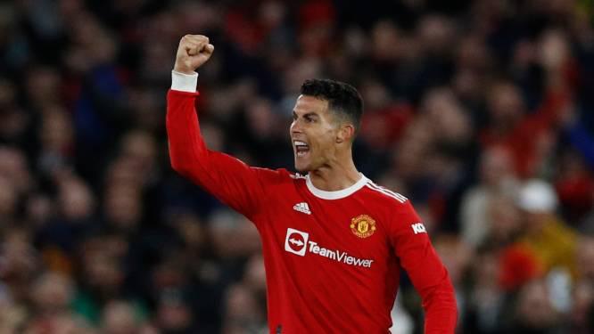 Ronaldo zorgt met late goal ook tegen Atalanta voor miraculeuze ontsnapping United