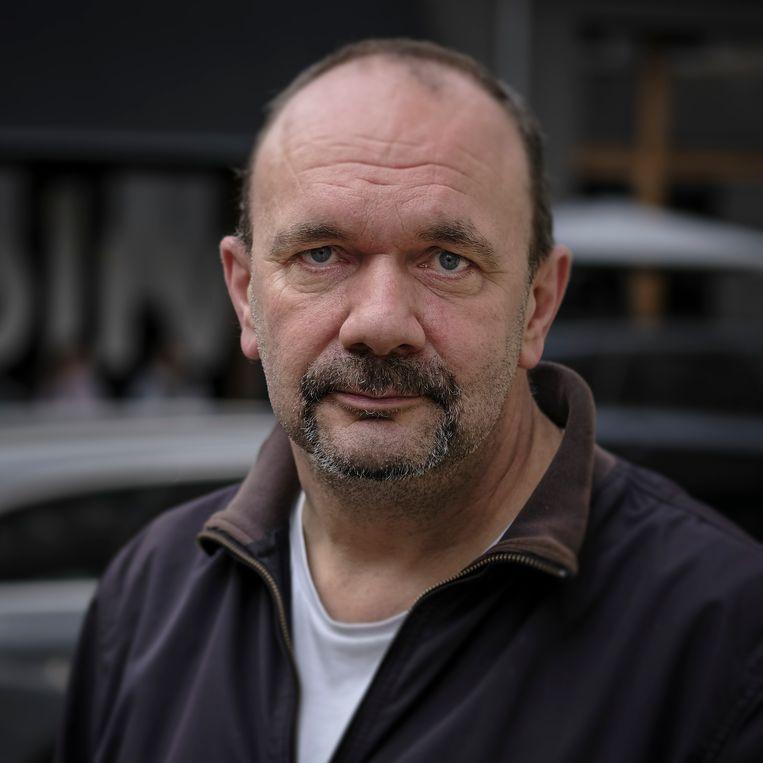 Andreas Bade stemt AfD. Beeld Daniel Rosenthal