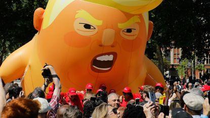 'Trump Baby' gaat naar de Verenigde Staten