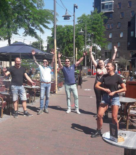 Vallei-burgemeesters tevreden over de eerste terrasdag van het jaar