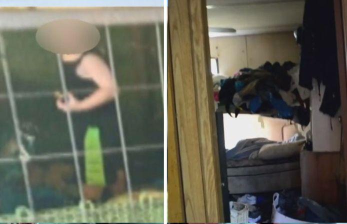 Trois personnes ont été arrêtées la semaine dernière dans le Tennessee lorsqu'un garçon d'environ 18 mois a été découvert dans une cage d'1,5 mètre carré