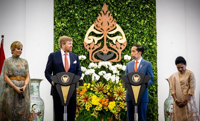 Koning Willem-Alexander bood bij het staatsbezoek aan Indonesië excuses aan voor het Nederlandse geweld bij de onafhankelijkheidsstrijd.