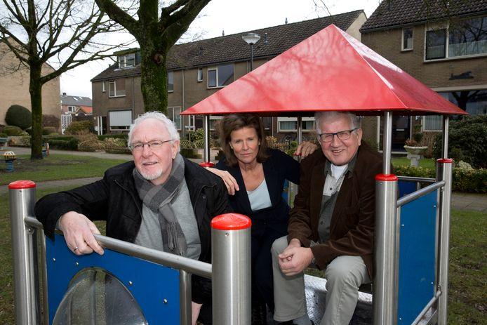Archiefbeeld van Geert van den Hoogen, rechts op de foto.