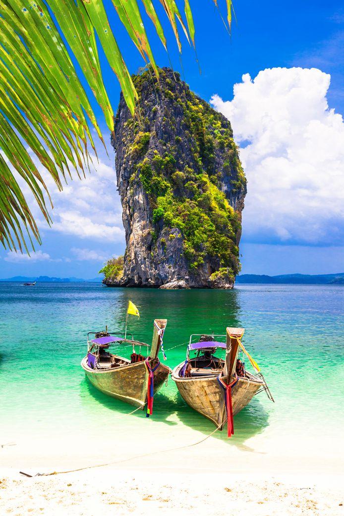 'James Bond-eiland' bij Krabi, Thailand