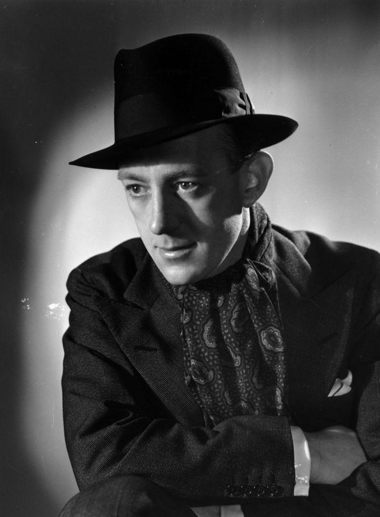 De Britse acteur Alec Guinness in de jaren veertig.  Beeld Getty Images