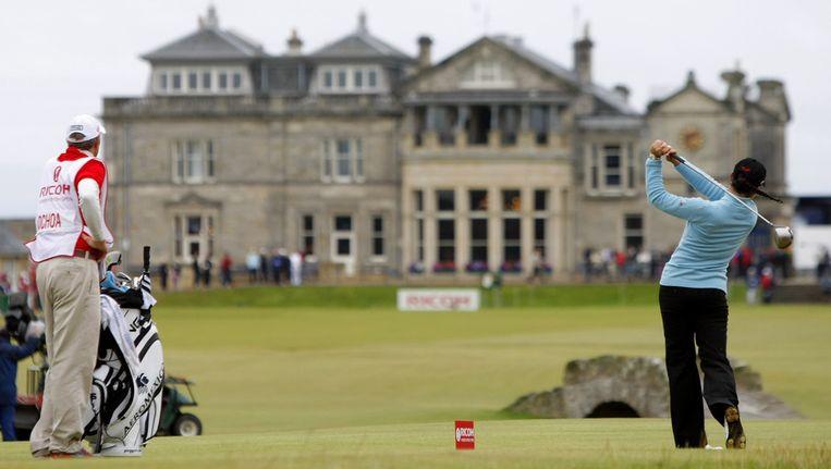 Beeld van de Royal & Ancient Golf Club in St. Andrews. Beeld AP