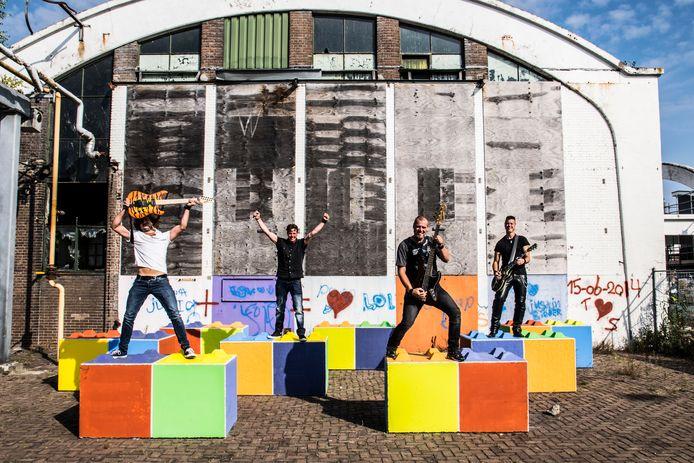 Rockband Jetlack treedt eind november op tijdens de eerste editie van het Geesterens Headbangersball.