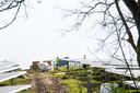Breda - Pix4Profs/René Schotanus. Werkzaamheden voor het leggen van de zonnepanelen Bavelse Berg.