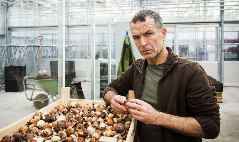 Acteur Raymond Thiry op de set van de nieuwe Nederlandse dramaserie Zwarte Tulp. Thiry is ook te zien in de KRO-serie Penoza. Beeld ANP