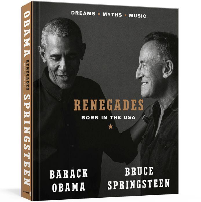 Het boek van Springsteen en Obama.
