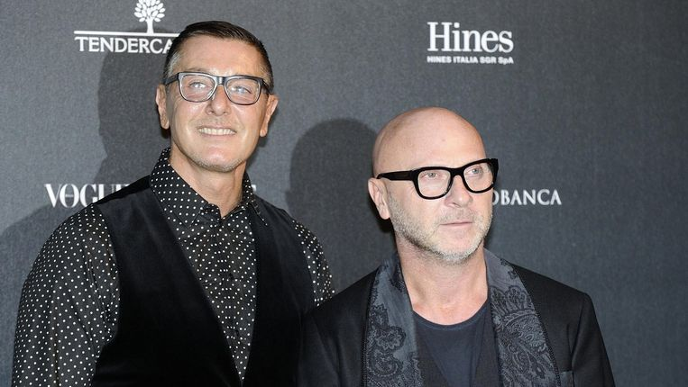 Domenico Dolce en Stefano Gabbana Beeld ANP