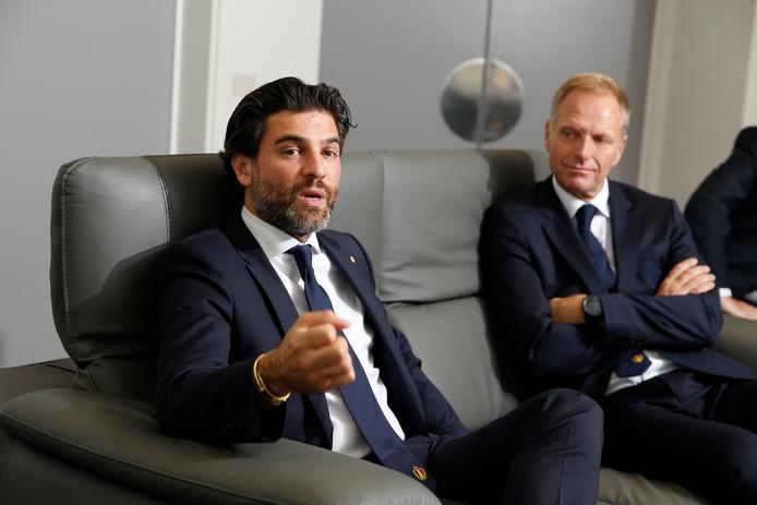 Mehdi Bayat et Peter Bossaert