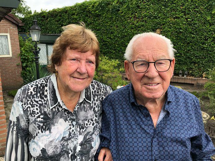 Het briljanten paar Frans en Francien van Kessel-Van den Boom.