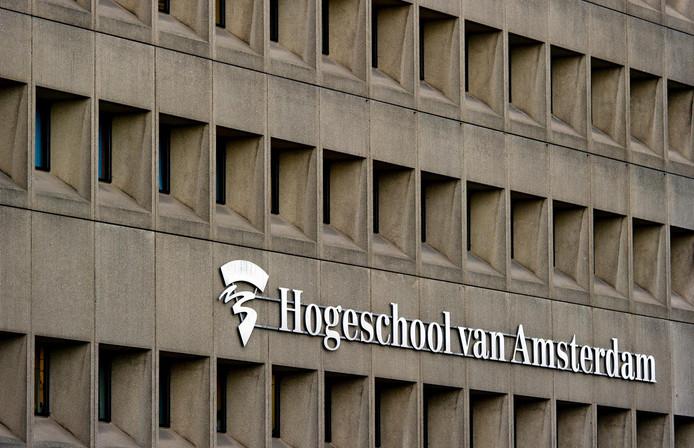 De Hogeschool van Amsterdam bungelt onderaan de lijstjes van hbo-instellingen.