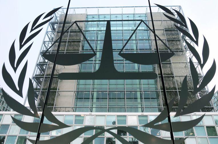 Het Internationaal Strafhof in Den Haag. Beeld AP