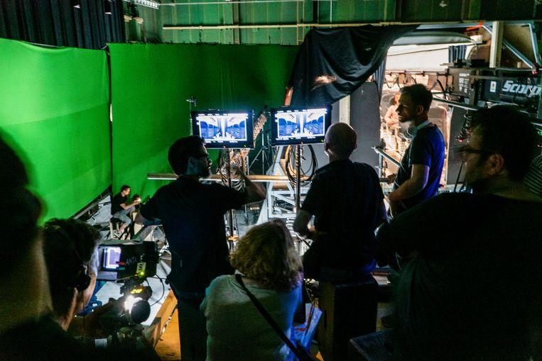 Opnames van 'Into the Night'. Beeld Netflix