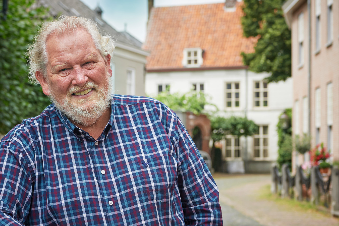 Evert van Schoonhoven, voorzittervan de vereniging van Kleine Kernen.
