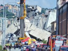 'Mogelijk nog 10 tot 20 mensen onder puin ingestorte brug Genua'