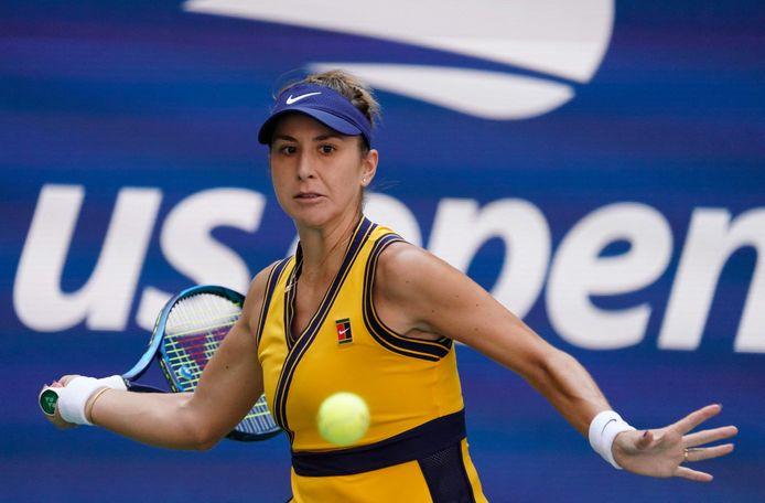 Pourtant inarrêtable depuis son titre olympique à Tokyo, Belinda Bencic a été dépassée par la fougue d'Emma Raducanu en quart de finale.